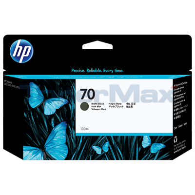 HP DESIGNJET Z2100 NO 70 INK MATTE BLACK 130ML